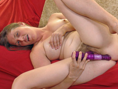 Lindsay uses new toy to cum and masturbates