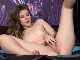Jads strips and masturbates in her purple room