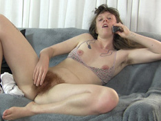 Naked girls talking on couch Roxanne Strips Naked On Her Couch While Talking